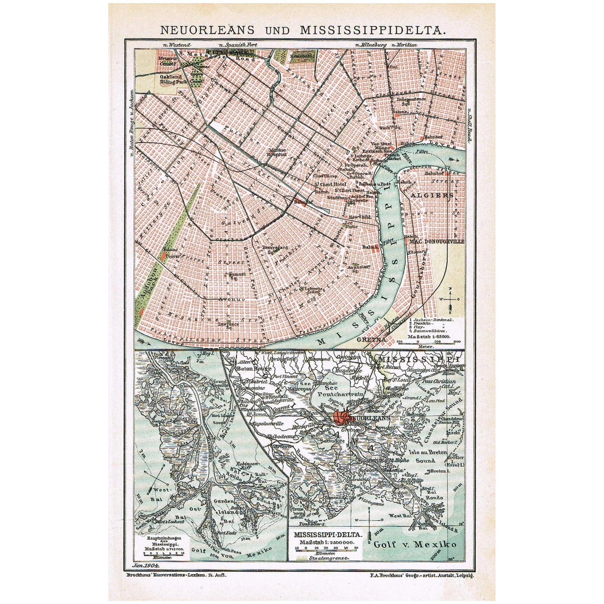 New Orleans and Mississippi-Delta. Old map from 1899 on new orleans cruise port, map of san diego port, map of port of new york, map of beaumont port, map of port hudson battle, map of dallas texas, map of disney world orlando, map of hamburg port, map of mississippi gulf coast, map of san pedro port, map port orleans disney room, map of port of la lb, map of galveston port, map port orleans french quarter garden view,