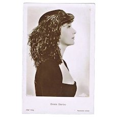 Greta Garbo  Vintage Portrait Photo by Ross