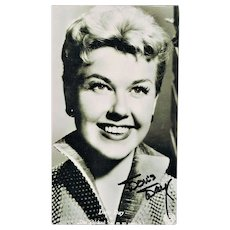 Doris Day Autograph on Photo CoA