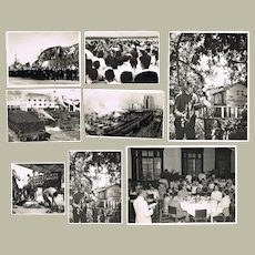9 Old Chinese Press Photos Korea War Period