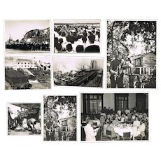 9 Old Chinese Press Photos Korea War Period
