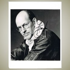 Frank Oz from Muppets Autograph on 8 x 10 Photo plus Side Letter CoA