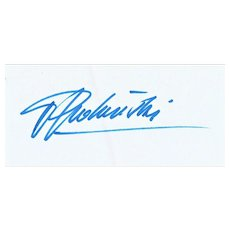 Roman Polanski Autograph on 8 x 12 Sheet CoA