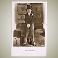 Old Jackie Coogan Photo Postcard from 1920s