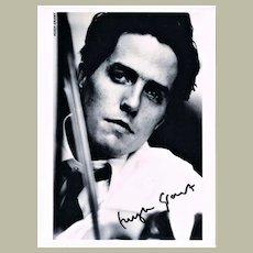 Hugh Grant Autograph. Signed Photo CoA