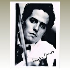 Hugh Grant Autograph. Signed Photo CoA