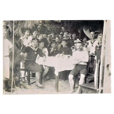 Old Chinese Photo of German Marines in China 1909