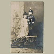 Vintage Photo of a Lilliputian Couple c. 1910