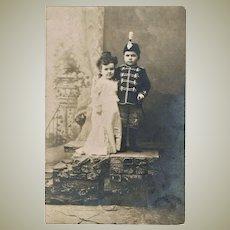 Vintage Photo of a Lilliputian Couple c. 1910