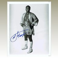 Joe Frazier Autograph Hand signed Photo. CoA. Plus Extra Print.