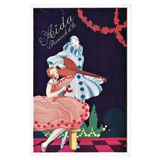 Vintage Advertising for Aida Bakeries Art Deco c. 1920