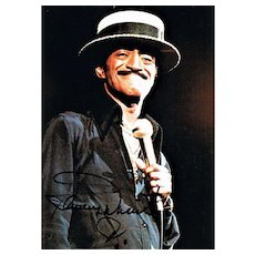 Sammy Davis Junior Autograph CoA