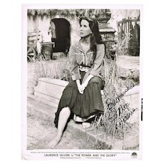 Julie Harris Autograph Photo with Authentic Signature and CoA 8 x 10