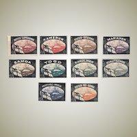 German Colonies: Set of Sealing Stamps