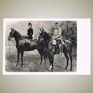 Austrian Emperor Frances Joseph and Empress Elizabeth, Sisi.