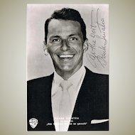 Frank Sinatra Autograph on Portrait Photo