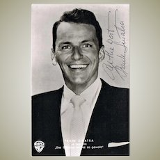 Frank Sinatra Autograph on Portrait Photo