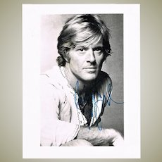 Robert Redford Autograph Hand Signed Photo CoA
