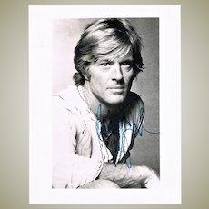 Robert Redford Autograph Hand Signed Photo CoA