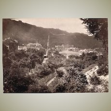 Two Antique Photos from Hong Kong c. 1904