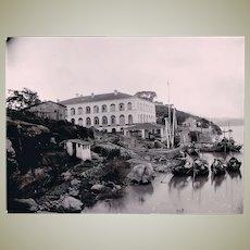 Antique China Photo Fuzhou Port Authority 1905