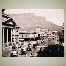 Antique Photo Adderley Street Capetown c. 1904