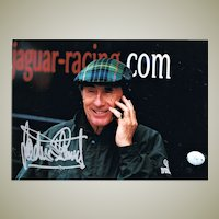 Jackie Stewart Autograph: Hand signed photograph. CoA