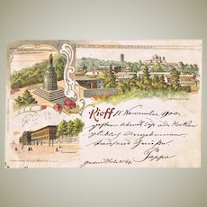 Imperial Russia Vintage Postcard Kiev, Scarce. 1900