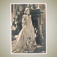 Greta Garbo Early Ross Photo