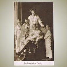 Photo Postcard of Royal Family Germany 1915