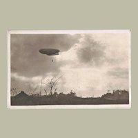 Zeppelin Japanese vintage Postcard