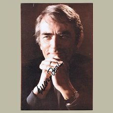 Gregory Peck Autograph. Hand-signed Photo. CoA