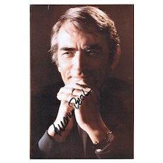 Gregory Peck Autograph. Hand-signed Photo. CoA