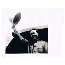 2 Mao Zedong Photos Authentic China Cultural Revolution Photos