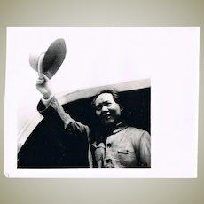 2 Mao Zedong Photos Authentic China Cultural Revolution Photos