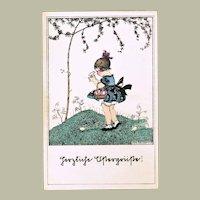 Mela Koehler Easter-Postcard. app.1918