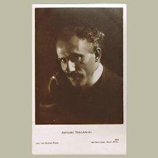 Arturo Toscanini Photo Postcard, app. 1910