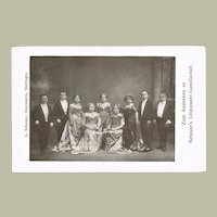 Lilliputian Artist Troupe. Vintage Photo Postcard
