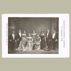 Lilliputian Artist Troupe. Vintage Photo Postcard