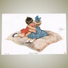 Cute Darling Postcard First Love
