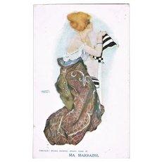 Raphael Kirchner Postcard Ma Marrinaine