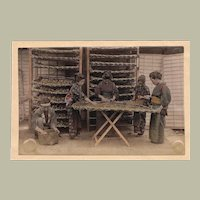 Japan: Tinted Albumen Photo. Ladies at Work
