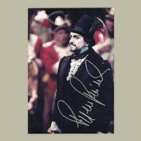 Ruggero Raimondi Autograph from 1985 with CoA