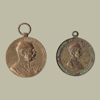 Austria-Hungary 1898 Jubilee Medal and Prussian King Medal 1890