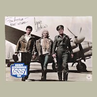George Chakiris Autograph on Movie Still for 633 Squadron CoA
