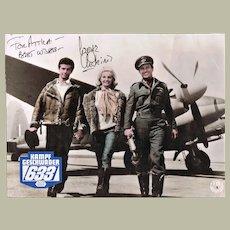 George Chakiris Autograph on Movie Still for 633 Squadron CoA