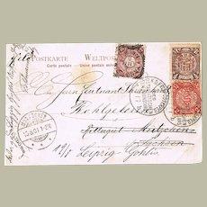 Imperial China Boxer Rebellion Period Postcard Yang Tsun 1901