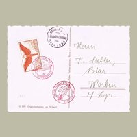 Zeppelin Mail Switzerland 1930