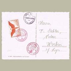 Zeppelin Mail Switzerland 1930