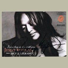 Jessey Norman Autograph CoA